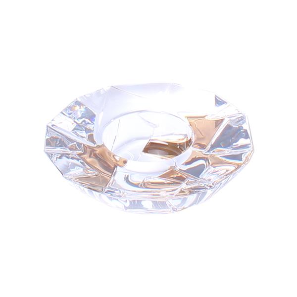 Свещник Bohemia Crack Gold, 15.2 cm