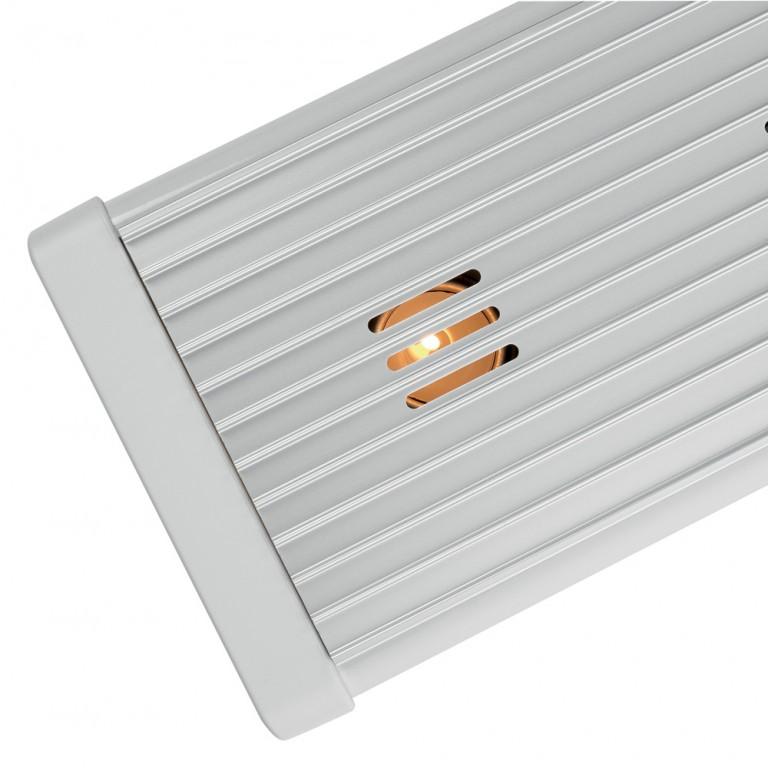 Уред за притопляне с 2 нагревателя Brabantia, Brilliant Steel