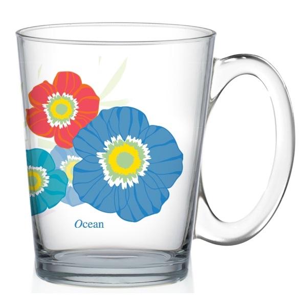 Чаша за кафе Ocean Vivid Flora Blue