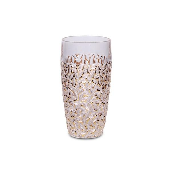 Чаши за вода Bohemia Nicolette Golden Marble