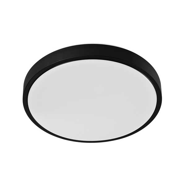 LED плафон за баня Black Ring, 18 W, IP 44