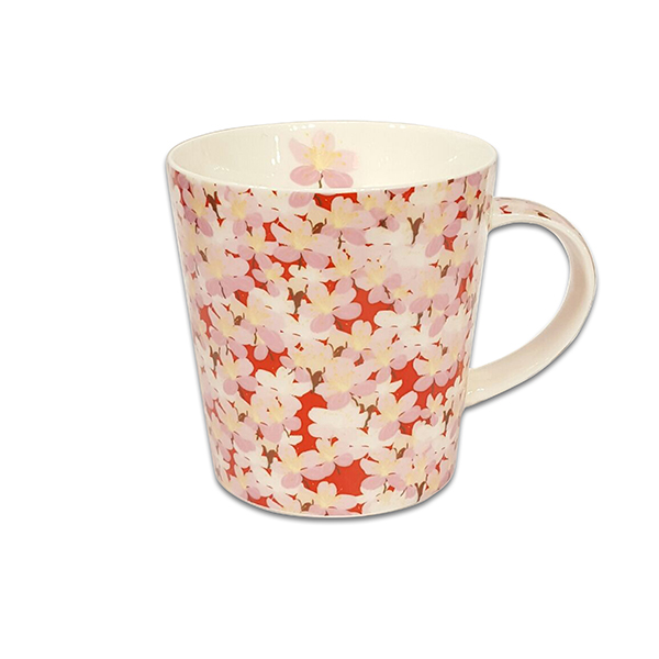 Порцеланова чаша Mug Jameson+Taylor Blossoms pink