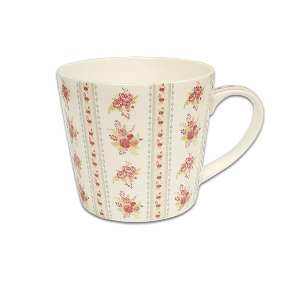 Порцеланова чаша Mug Jameson+Taylor Bouquets red