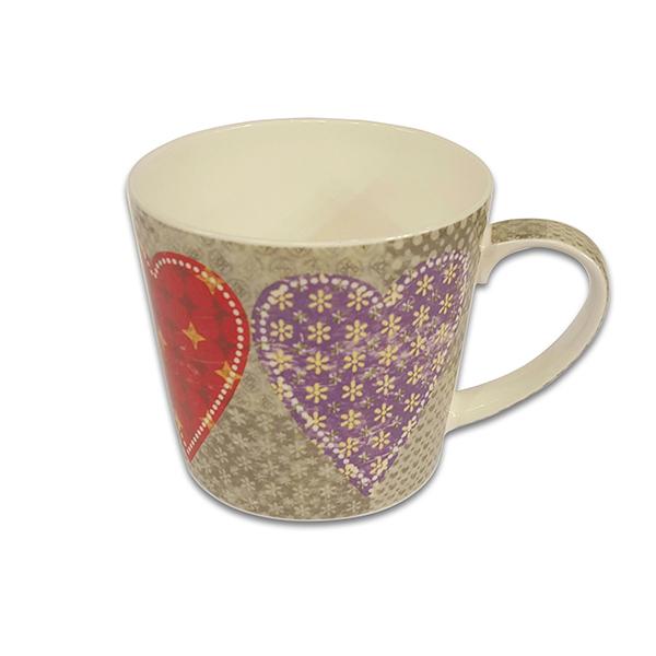 Порцеланова чаша Mug Jameson+Taylor Heart tiles