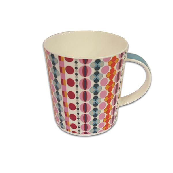 Порцеланова чаша Mug Jameson+Taylor Retro circles