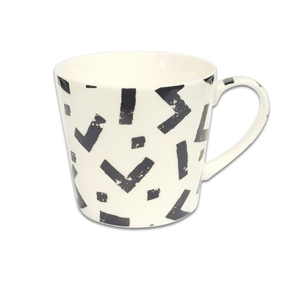 Порцеланова чаша Mug Jameson+Taylor Zigzag black