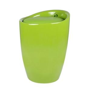 Табуретка Eleganta, ABS пластмасa, кръгла, зелена