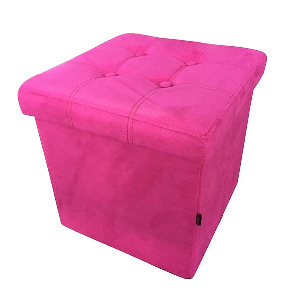 Табуретка Homa 582 Велур- цвят Розов