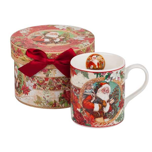 Дядо Коледа Порцеланова чаша MUG