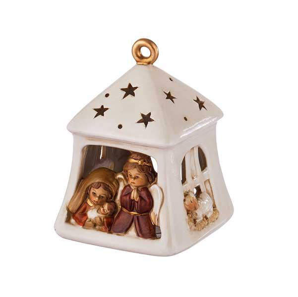 Коледен фенер за свещ Ангели