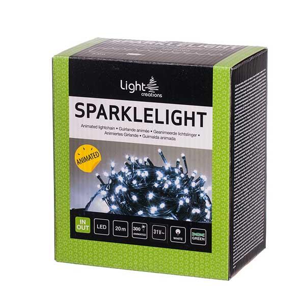 Коледно осветление 300 LED лампички 20м
