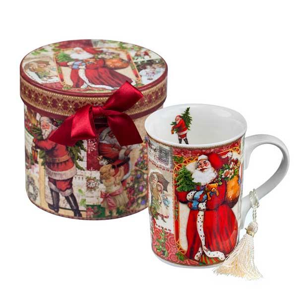 Порцеланова чаша MUG Дядо Коледа