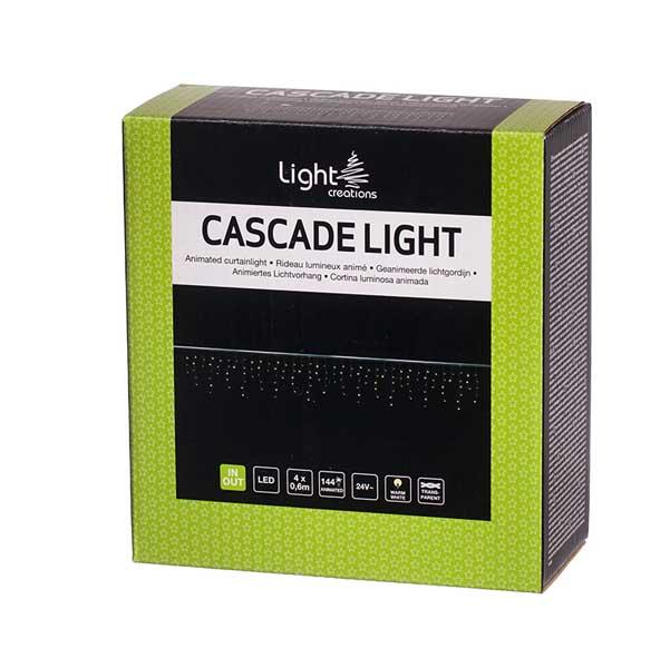 Светеща завеса 144 LED лампички 4х0.6м