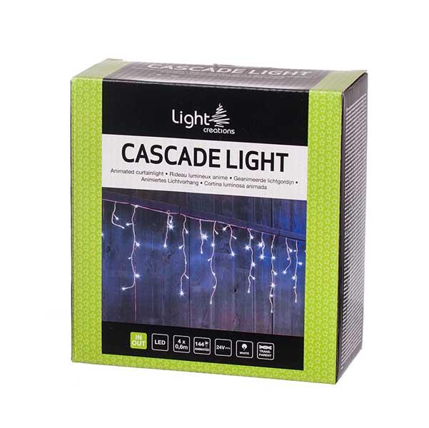 Светеща завеса 144 мигащи LED лампички 4х0.6м
