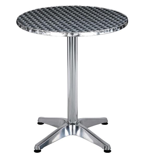 Алуминиева маса кръгла Muhler