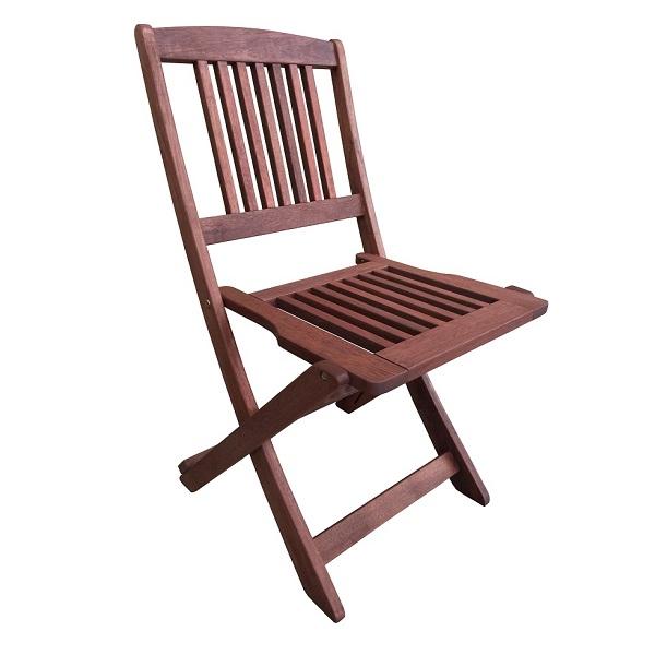 Сгъваем стол Muhler дърво Meranti