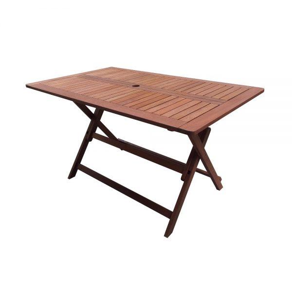Сгъваема дървена маса Muhler Meranti