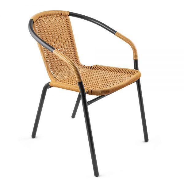 Стоманен стол ратан Muhler